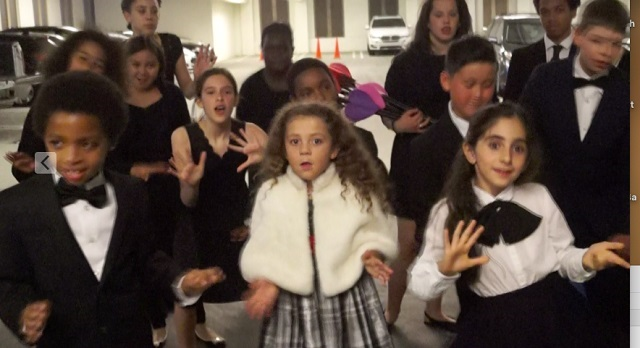 West L.A. Children's Choir Sings at Corporate Event
