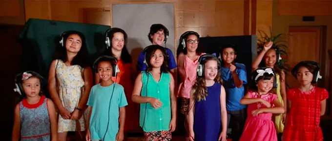 West L.A. Children's Choir Heal the world